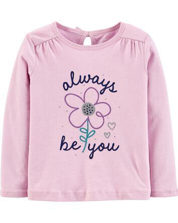 T-shirt en jersey Always Be You