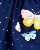 Butterfly Jersey Dress, , hi-res
