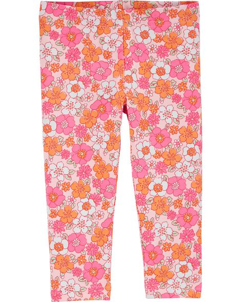 Legging capri Flower Power