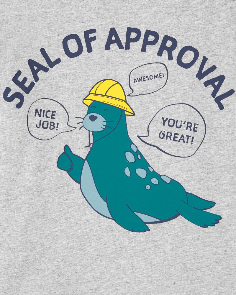 Seal Of Approval Tee, , hi-res