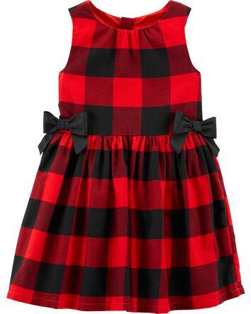 Buffalo Check Twill Dress