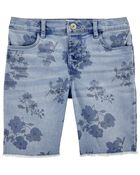 Stretch Skimmer Shorts in Yucatan Floral Wash, , hi-res