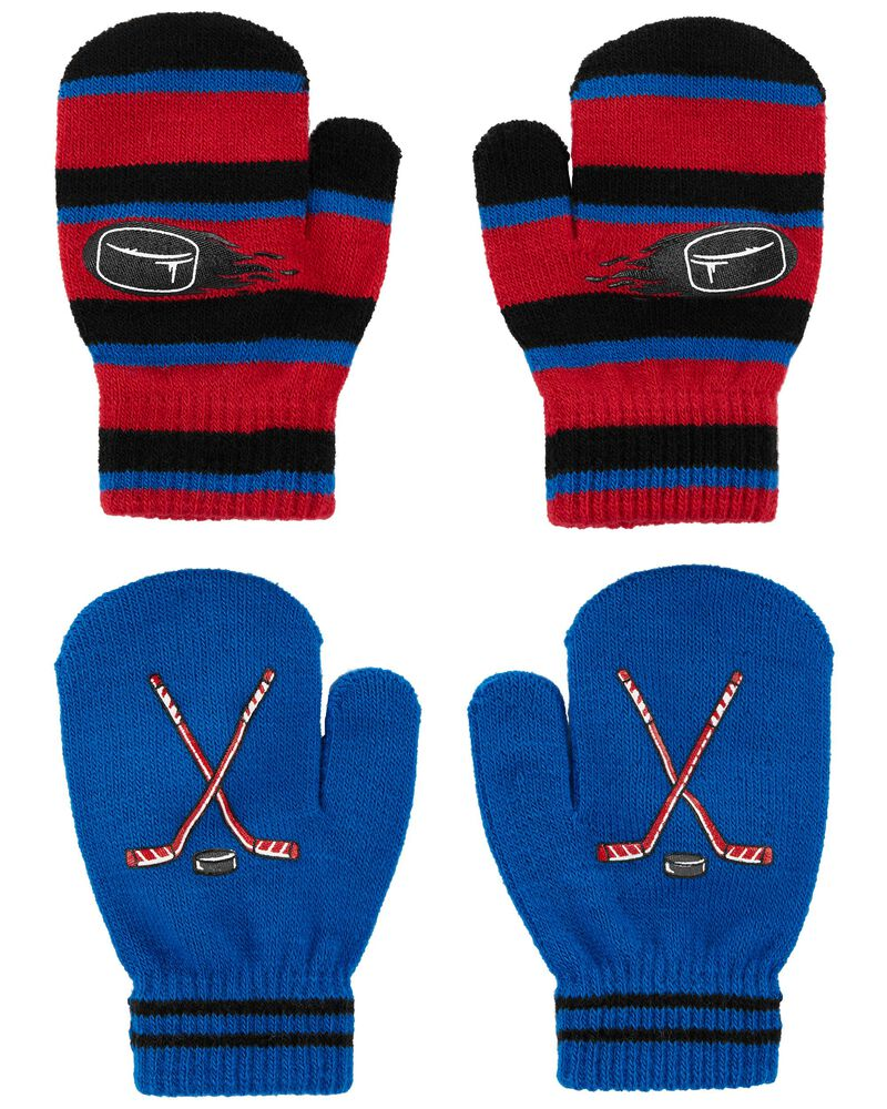 Emballage de 2 paires de mini mitaines hockey KOMBI, , hi-res