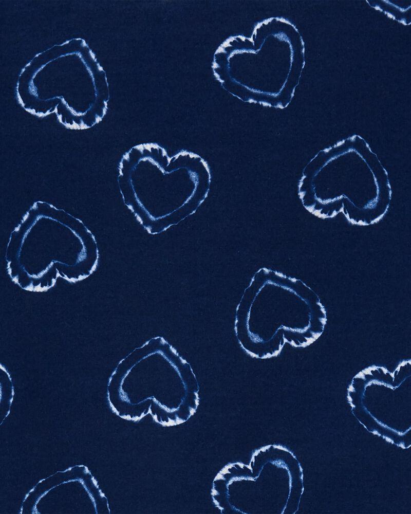 3-Piece Hearts Loose Fit PJs, , hi-res