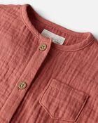 Organic Cotton Gauze Jumpsuit, , hi-res