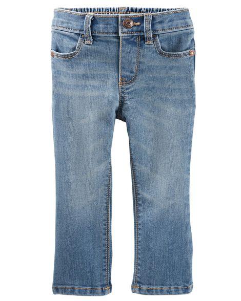 Jeans coupe botte étroite - délavage bleu Upstate