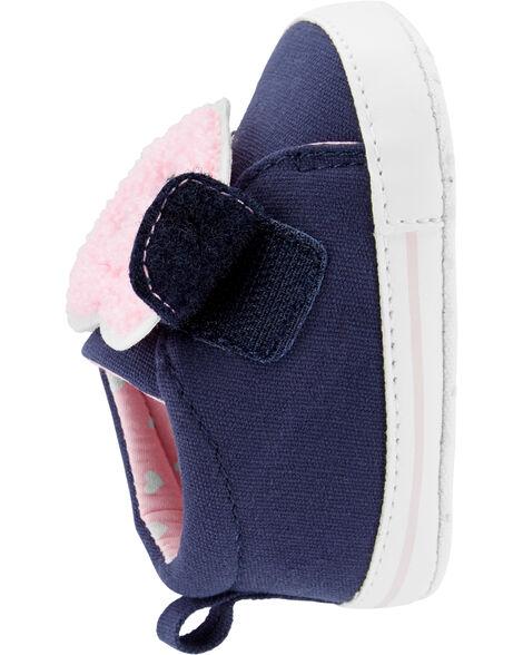 Chaussures pour bébé à cœur