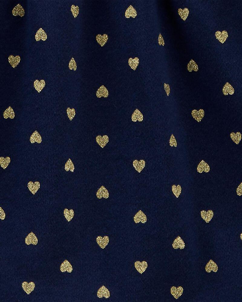 2-Piece Heart Fleece Top & Legging Set, , hi-res