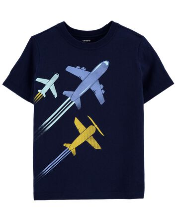 T-shirt en jersey à avions