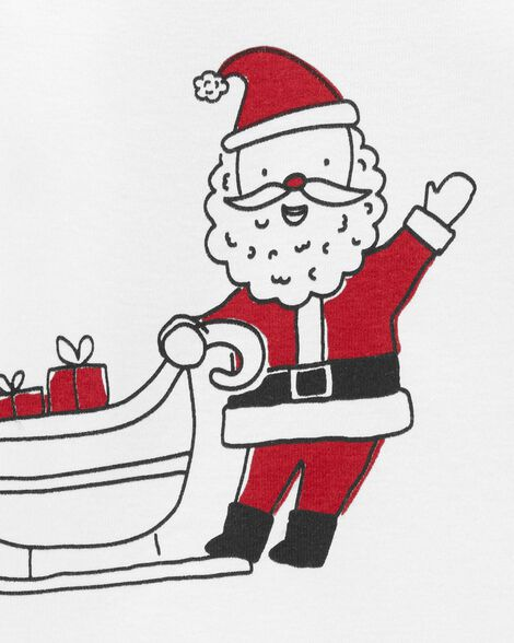 Cache-couches à collectionner traîneau du père Noël