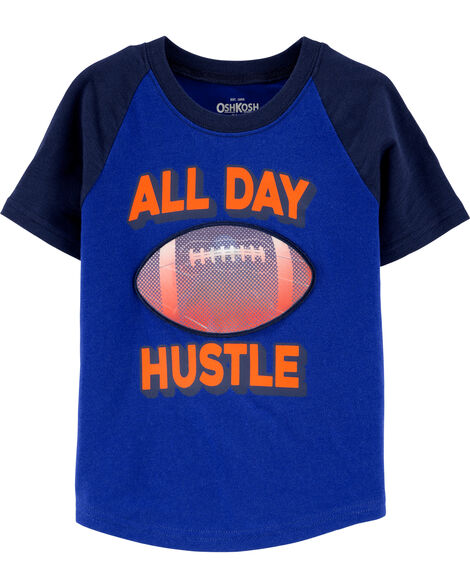 Football Action Graphic Tee