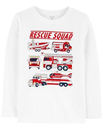 T-shirt en jersey Rescue Squad