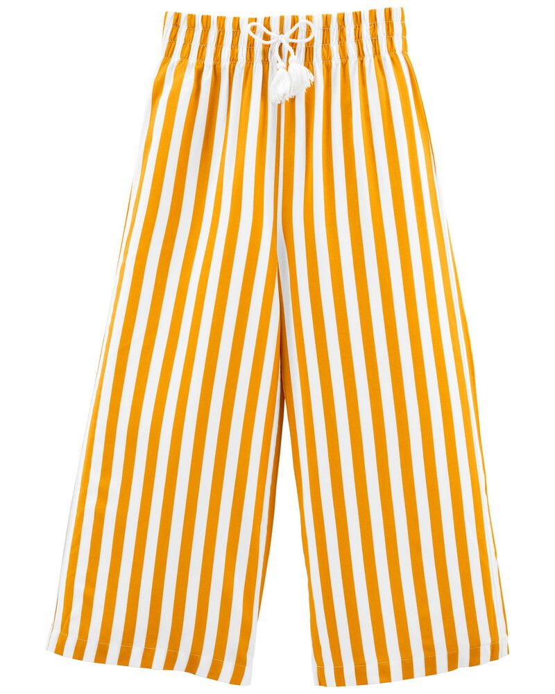 Tween Striped Wide-Leg Pants, , hi-res