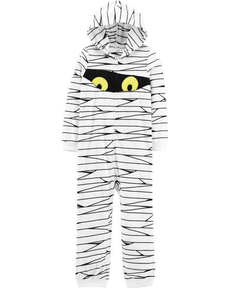 Pyjama 1 pièce sans pieds en molleton