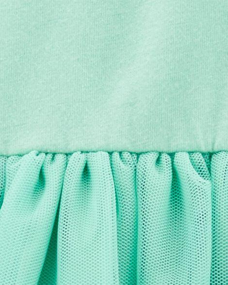 Robe en jersey à tutu