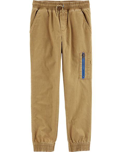 Pantalon cargo à enfiler