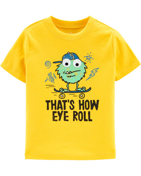 Monster Eye Roll Graphic Tee