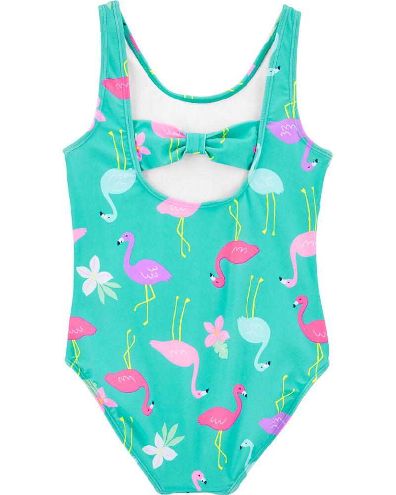 Carter's 1-Piece Flamingo Swimsuit, , hi-res