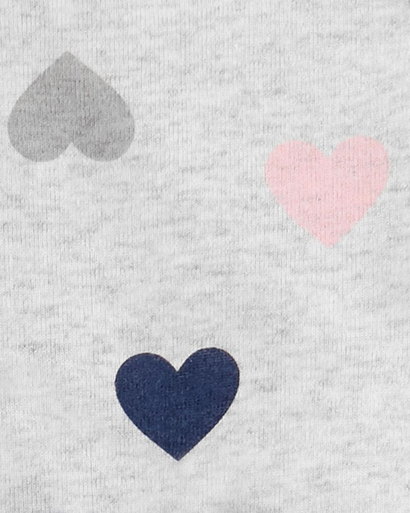 5-Pack Hearts Original Bodysuits, , hi-res