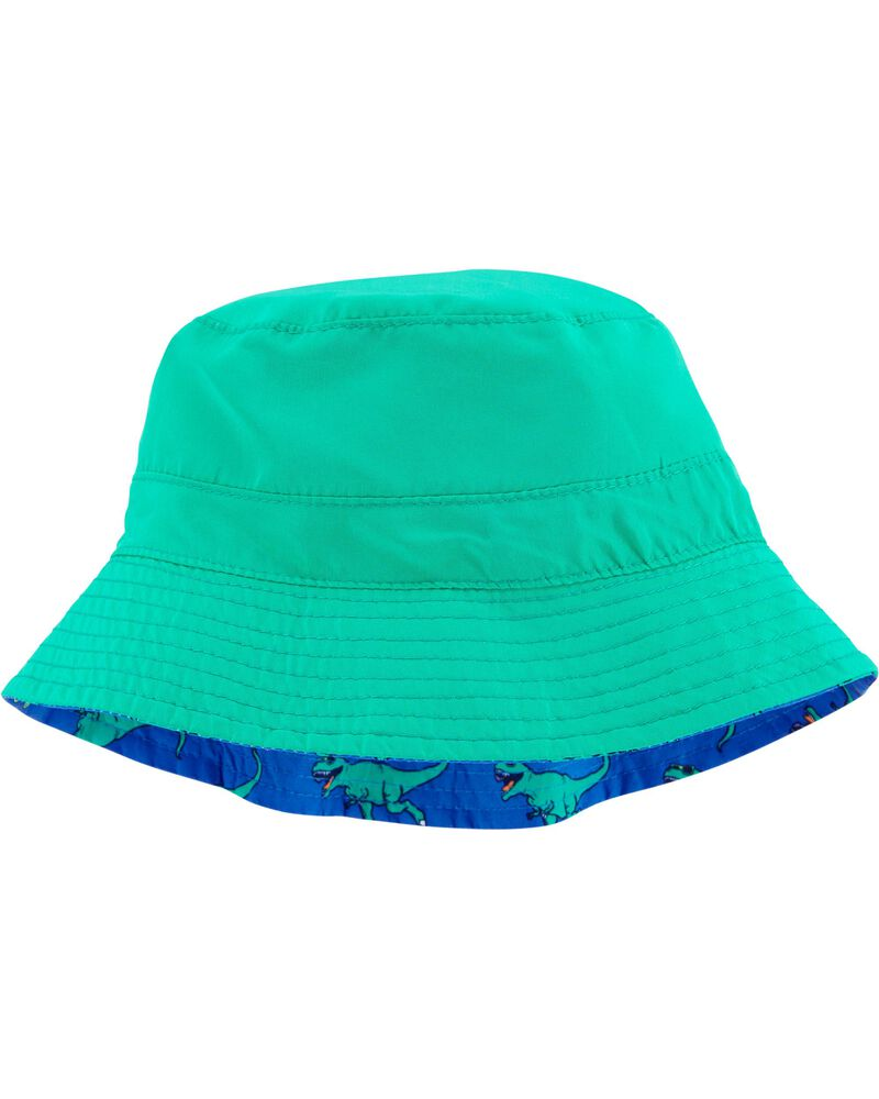 Reversible T-Rex Print Bucket Hat, , hi-res