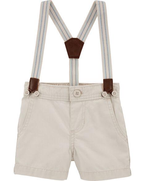 Suspender Shorts
