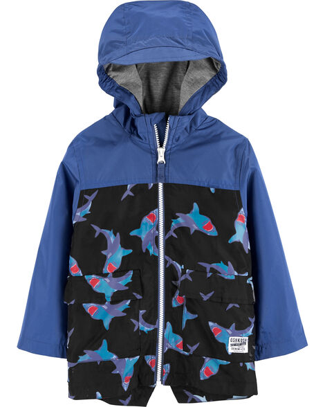 Shark Colour Change Rain Jacket