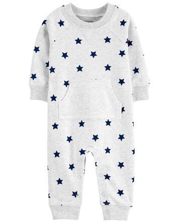 Star Cotton Jumpsuit
