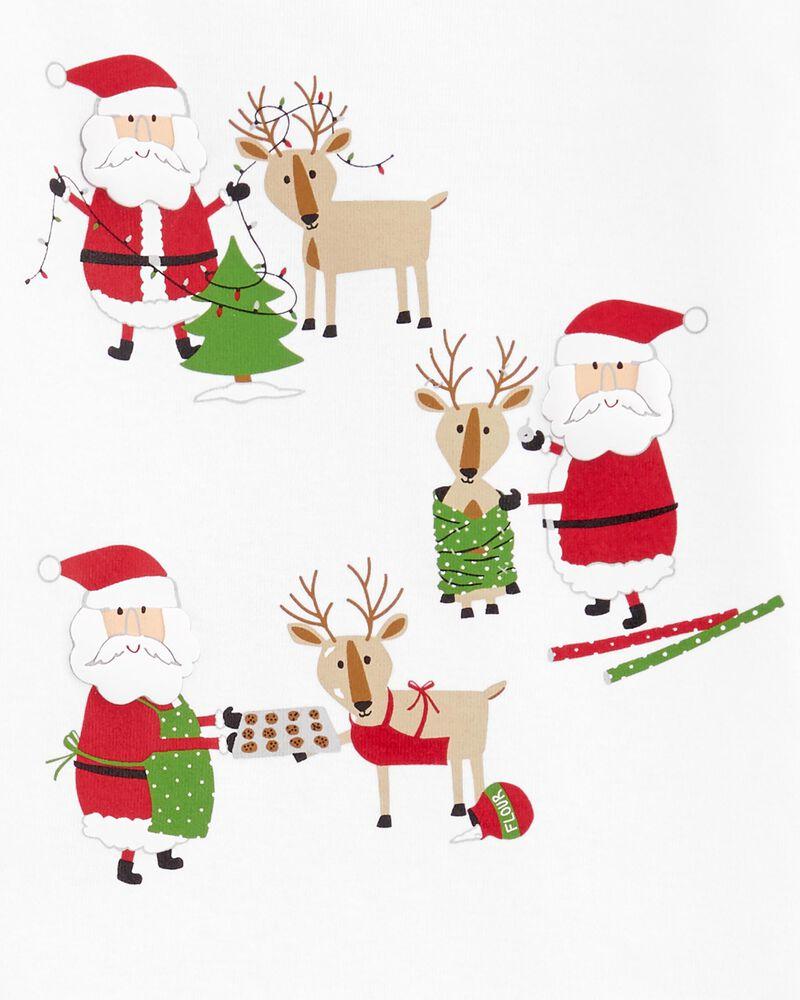 2-Piece Santa Fleece PJs, , hi-res