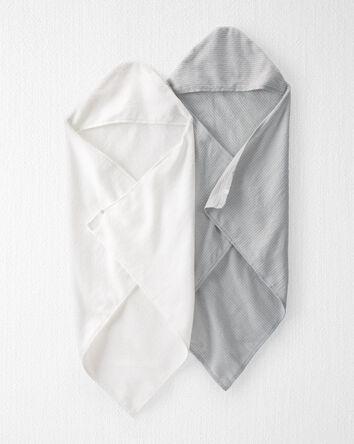 Emballage de 2 serviettes en coton...