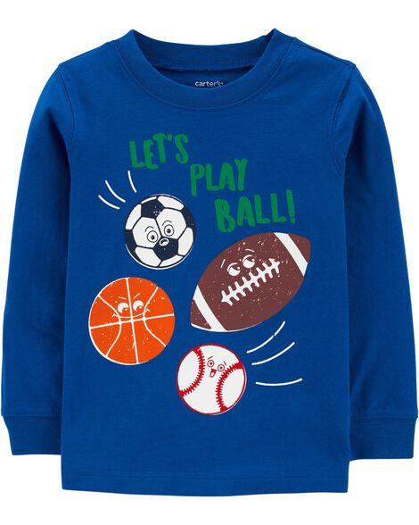 T-shirt en jersey sports