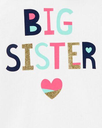 T-shirt à capuchon Best Sister