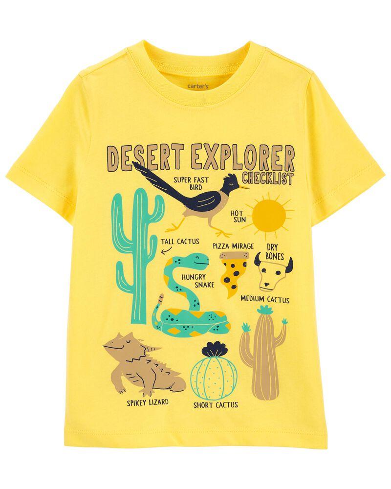 T-shirt en jersey à plantes, , hi-res