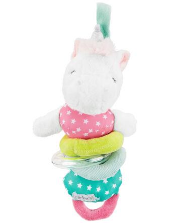 Unicorn Baby Rattle Toy