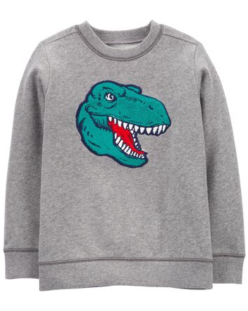 Dinosaur Fleece Pullover