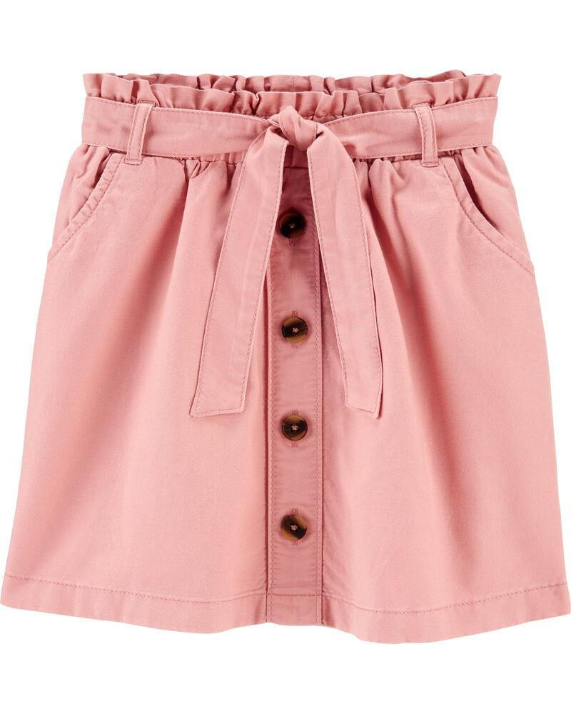 Ruffle Waist Skirt, , hi-res
