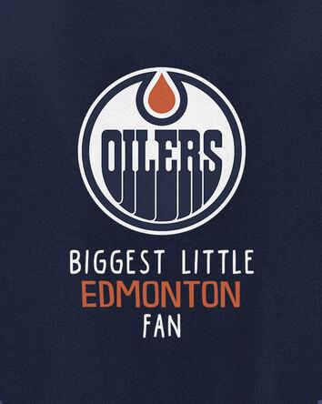 Cache-couche des Oilers d'Edmonton...