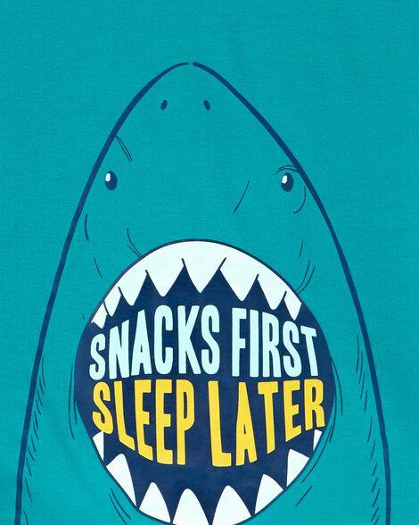 Pyjama 3 pièces en polyester motif requin