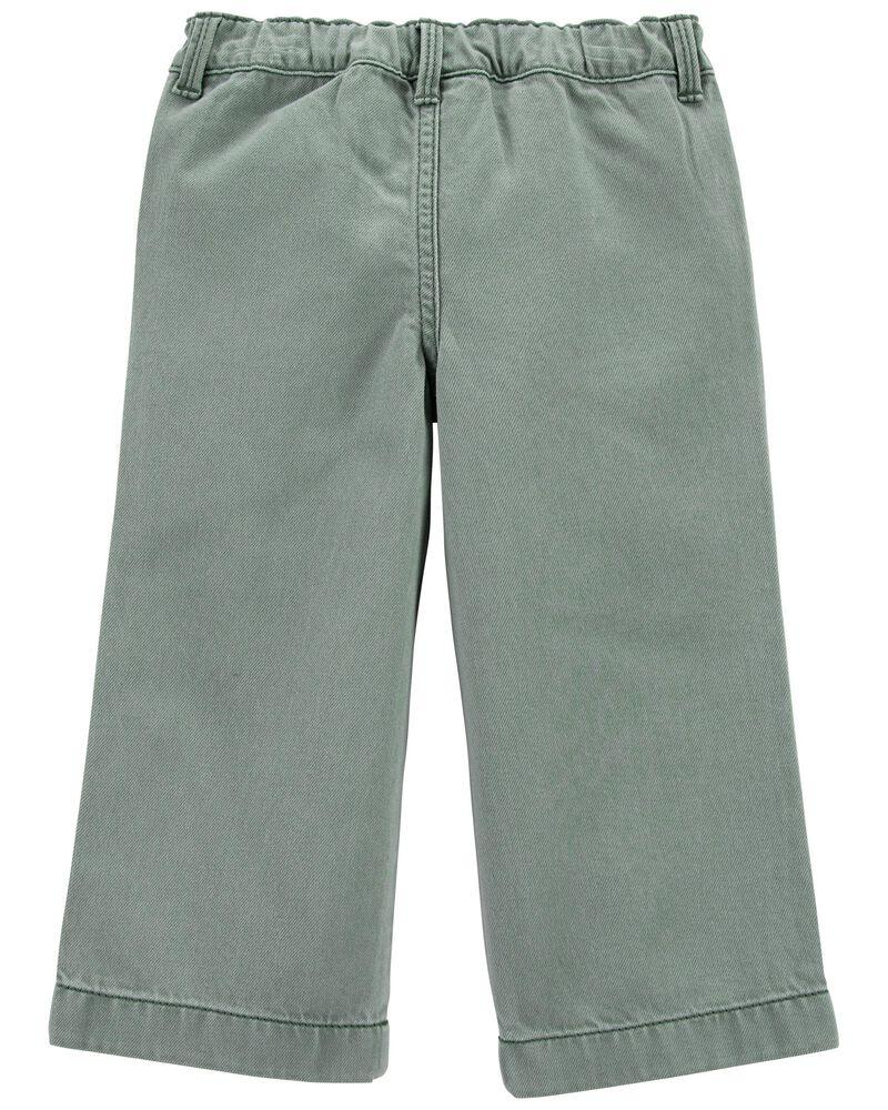 Wide Leg Crop Pants, , hi-res