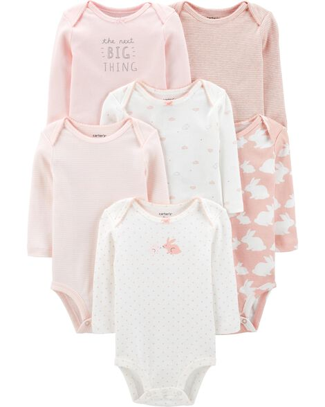 6-Pack Bunny Original Bodysuits