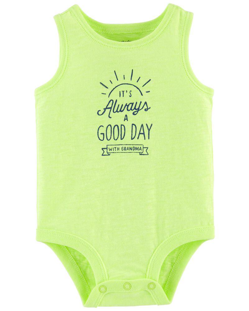 Neon Always A Good Day Bodysuit, , hi-res