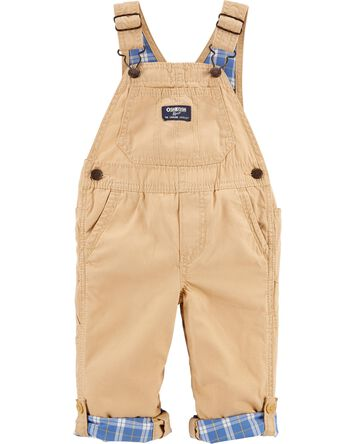 Convertible Canvas Overalls