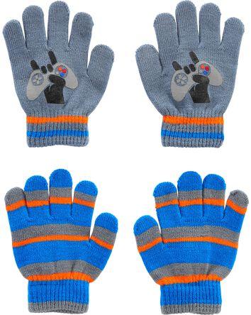 Emballage de 2 paires de gants amat...