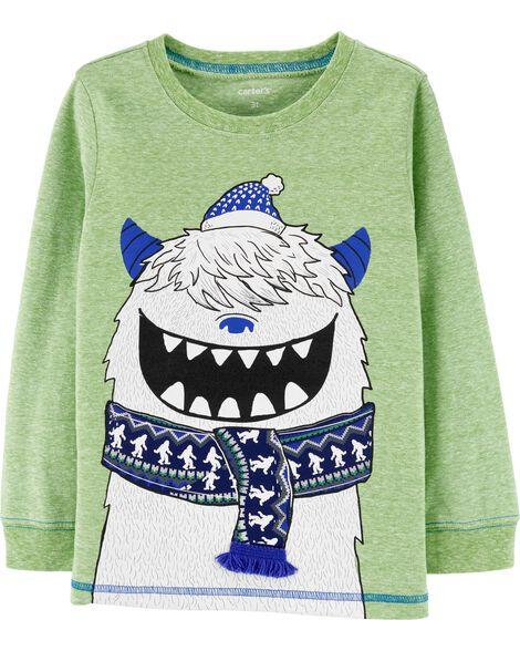 Abominable Snowman Snow Yarn Jersey Tee