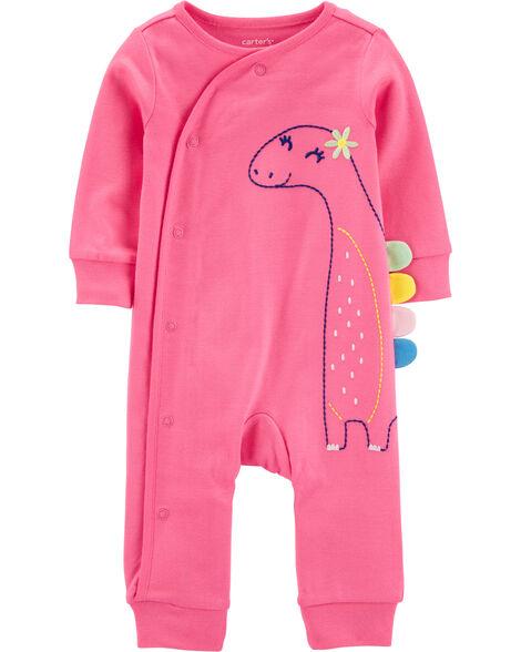 Dinosaur Snap-Up Cotton Footless Sleep & Play