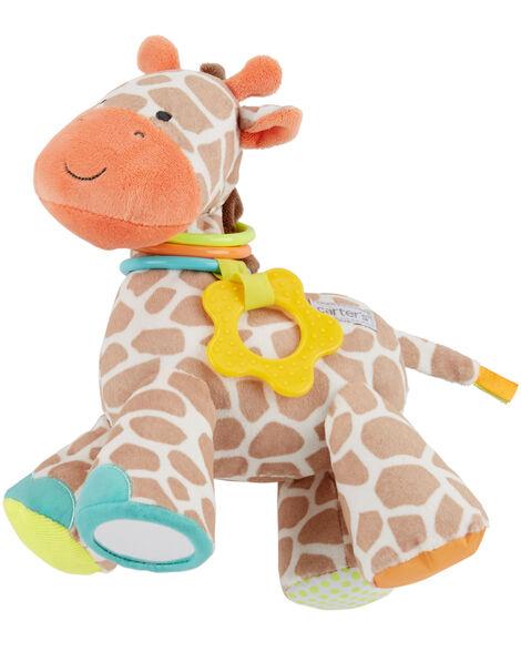 Plush Giraffe Teething Toy