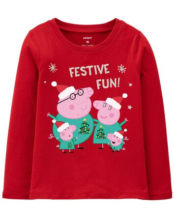 T-shirt Peppa Pig des Fêtes