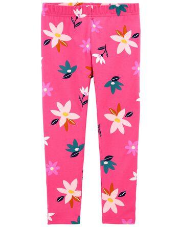 Floral Capri Leggings