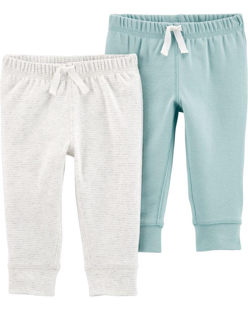 Emballage de 2 pantalons à enfiler, , hi-res