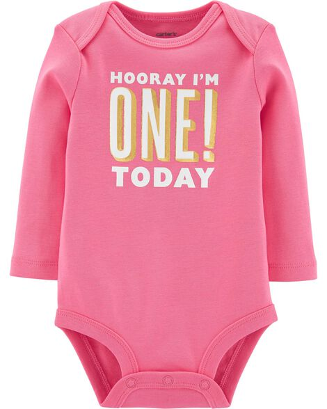 First Birthday Bodysuit