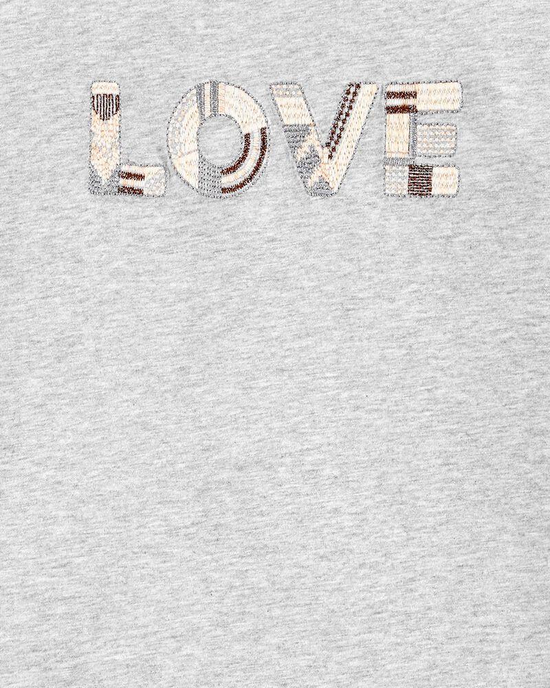 Slub Jersey Love Top, , hi-res